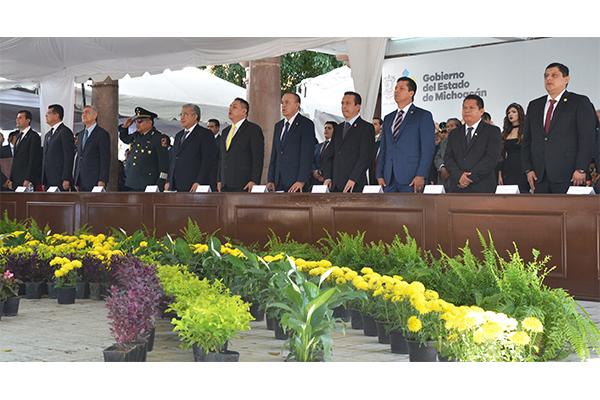 En este evento se contó con la presencia de magistradas, magistrados y consejeros de la institución