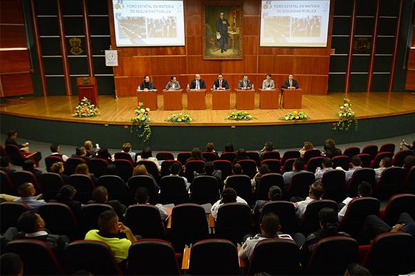 El evento tuvo como sede el Auditorio del Palacio de Justicia José María Morelos