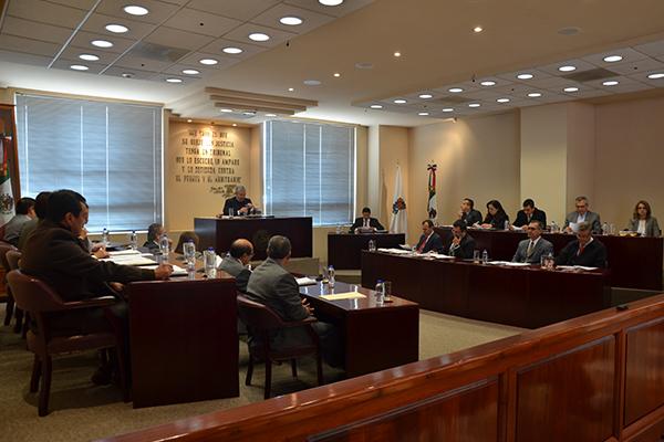 Los acuerdos y resoluciones de este cuerpo colegiado están disponibles para consulta en www.poderjudicialmichoacan.gob.mx