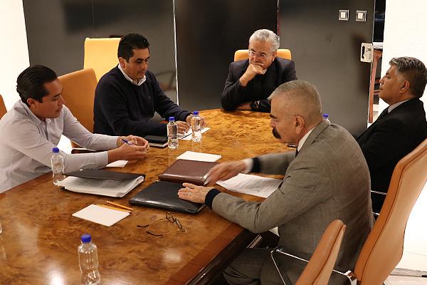 Mantienen trabajo coordinado y supervisión de avances en Zamora y Lázaro Cárdenas