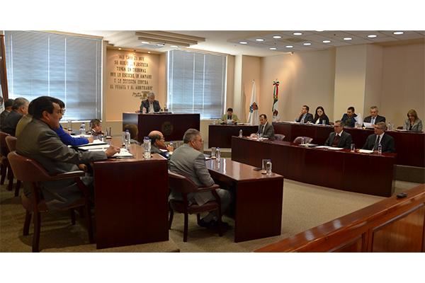 En esta sesión se aprobaron dos proyectos de resolución y se turnaron seis asuntos