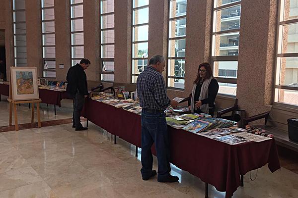 Del 11 al 15 de febrero se exhiben en el Palacio de Justicia José María Morelos obras jurídicas de diversas materias