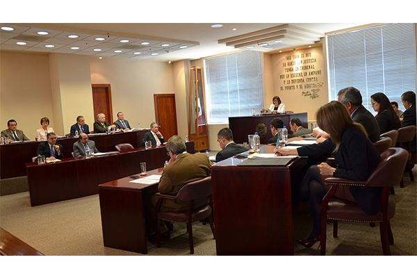 En esta sesión se aprobaron siete proyectos y se turnó un asunto, los cuales pueden consultarse en la página web de la institución
