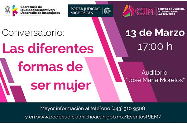 Con la colaboración de la Secretaría de Igualdad Sustantiva y Desarrollo de las Mujeres y el Centro de Justicia Integral para las Mujeres