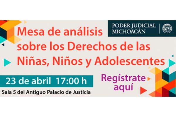 En mesa de trabajo, participarán especialistas de la salud, impartición de justicia y psicología