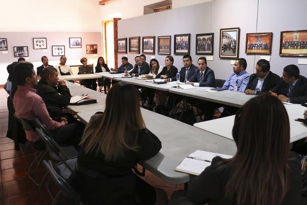 Juez estatal especializado en la materia e integrantes del Ministerio Público Federal, participan en la actividad