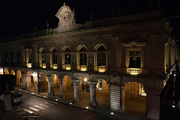 Recorrido nocturno en el Palacio de Justicia del Centro Histórico los viernes 11 y 18 de octubre