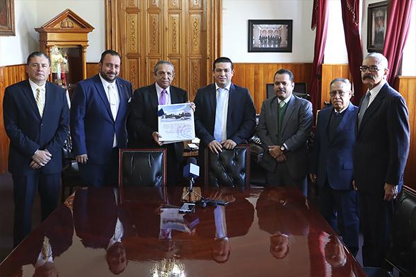 Poder Judicial de Michoacán recibe de parte del Ayuntamiento el proyecto de construcción que albergará juzgados y oficinas judiciales