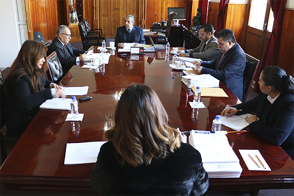 Máximo órgano administrativo del PJM lleva a cabo primera sesión ordinaria de 2020