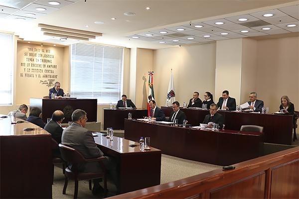 Conformando pleno, el máximo órgano jurisdiccional lleva a cabo la primera sesión ordinaria de 2020