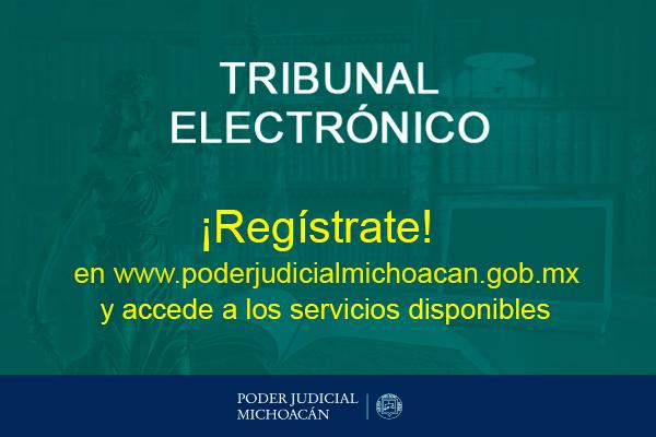 Citas para presentación de demandas y escritos introductorios de la instancia, avisos sobre asuntos, recibir notificaciones electrónicas y consulta de expediente digital